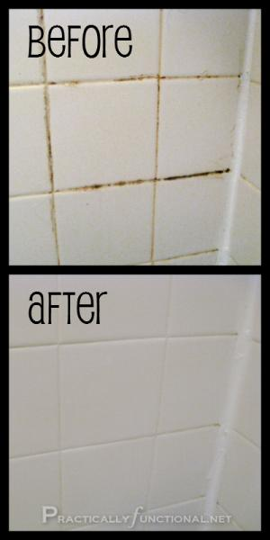how to clean shower screen with baking soda