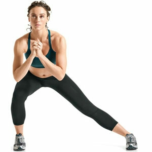 Side lunge  4 reps of 15 (each leg)