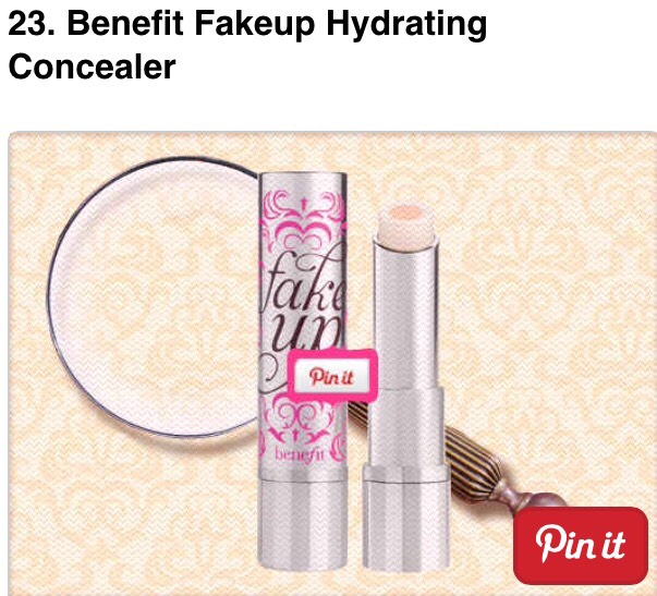 It's a concealer inside a moisturizer!! Combats cakiness - $24.00