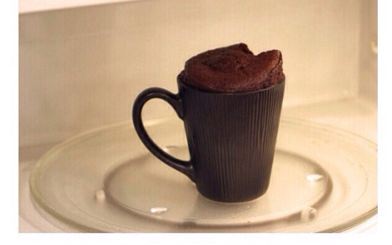 Bake in microwave for 1.5 minutes