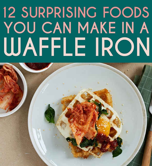 Seriously? This many recipes with a waffle iron is definitely cool! I tried some of them and they came out deliciously awesome! I'm definitely trying more!