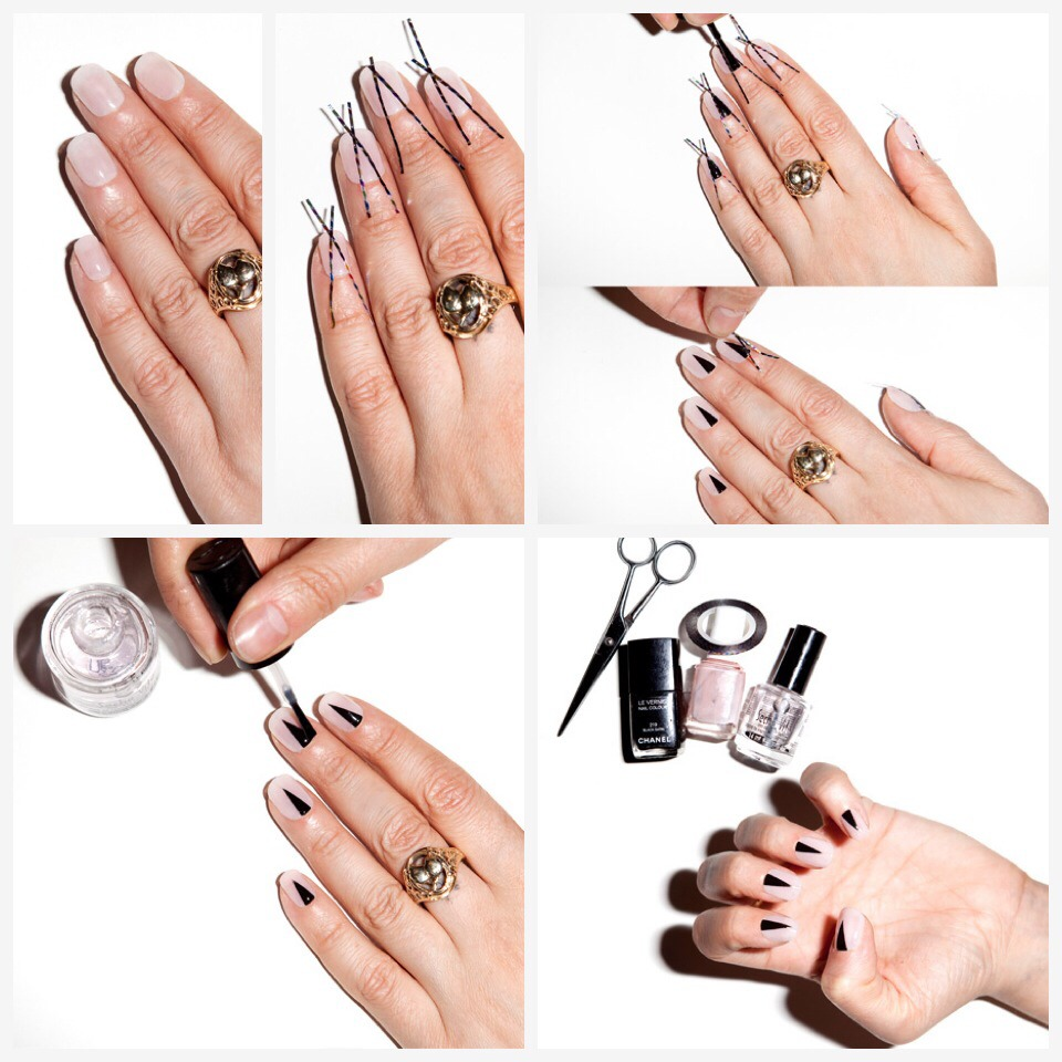 --> For Full Tutorial:  http://www.allure.com/beauty-trends/blogs/daily-beauty-reporter/2014/04/the-halfmoon-mani-with-a-twist.html