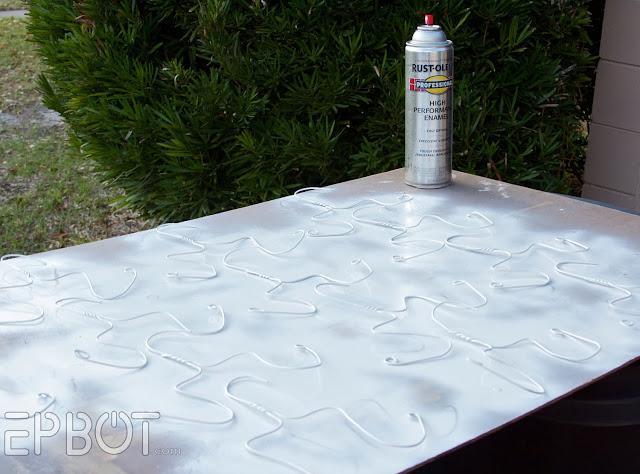 put a fresh coat of spray paint