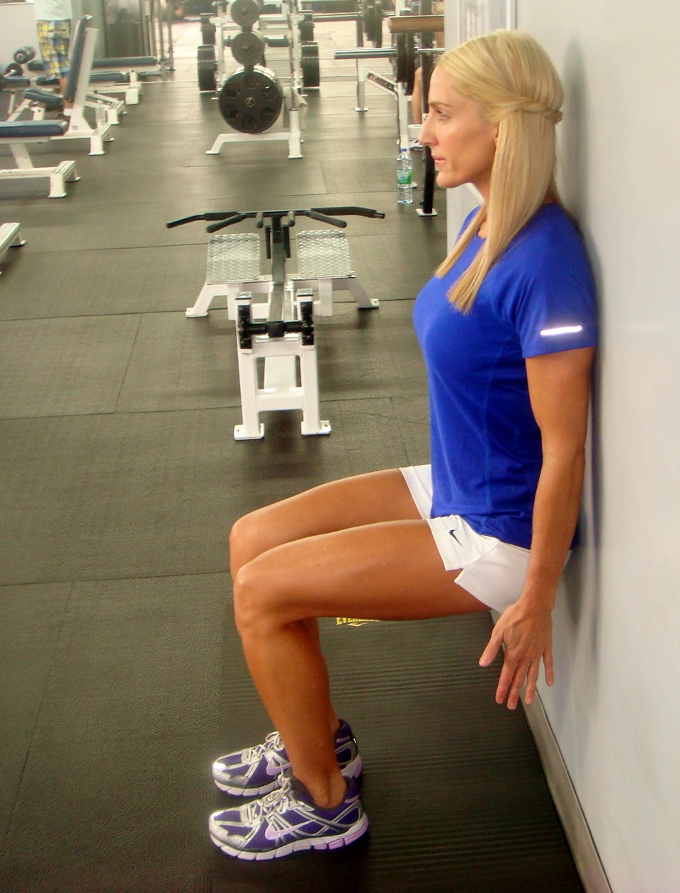 Do wall sits! I'll swear by this tip! The difference in my thighs is incredible
