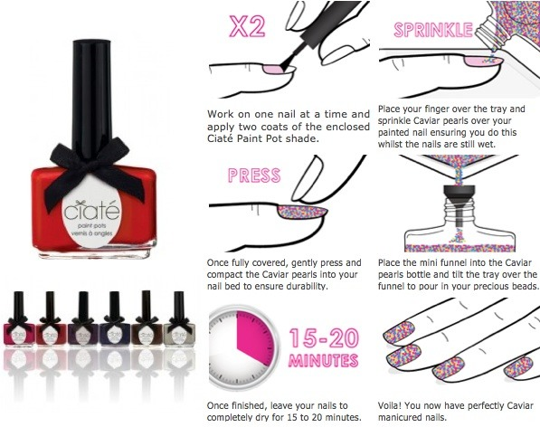 Quick, easy and mess-free nails!