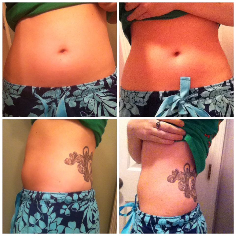 My personal results from my first wrap!