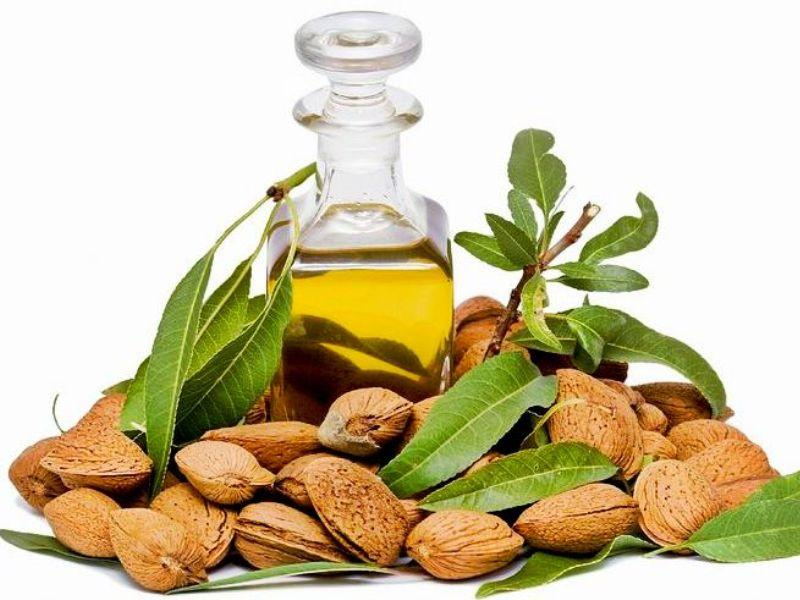 Make paste of 5-6 almonds with some milk. Apply this over affected area around eyes. Leave it for 15 minutes. Wash off with cold water. This helps to lighten skin around eyes.