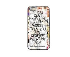 Personally, I really like this idea. For this, you can simply write a cute quote right on the case. Another option is to buy a clear case, write the #quote on the inside or outer side of the case, and stick a fun backdrop on the inside. Definitely trying this one out.