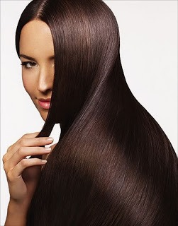 Want really long and shiny hair?   Mix 1 part ACV with 1 part water and use the mixture to rinse your hair after you shampoo. Massage a few minutes into scalp then do one quick rinse with cool water. ACV stimulates the hair follicles making it grow much faster, softer, shinier and healthier.-->