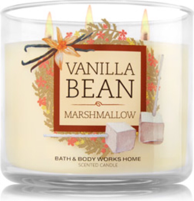 Vanilla bean marshmallow 3-wick candle is the best winter candle I've found! (Even though it's more of a fall scent, I find it works better with winter)