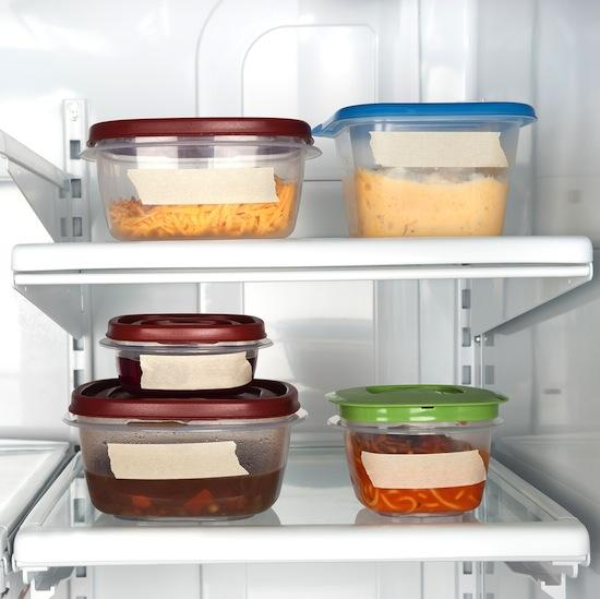 Put Leftovers Away Before You Eat