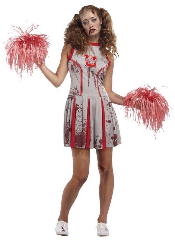 20. Zombie cheerleader
