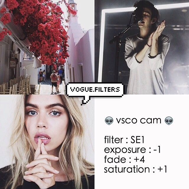 Instagram Filter Ideas (VSCO Cam) by Shannon O'Connor - Musely