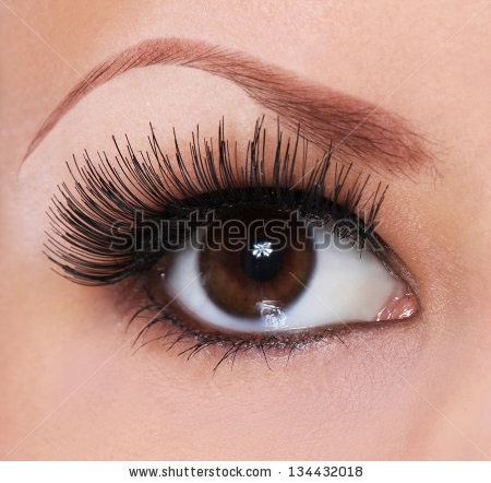 Before bed every night use an old, clean mascara brush and apply coconut oil to yoir lashes.