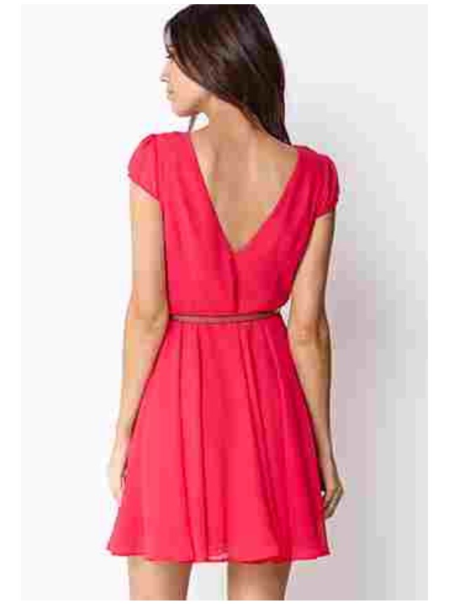 Sweet side dress for only $19.80, once again  forever 21