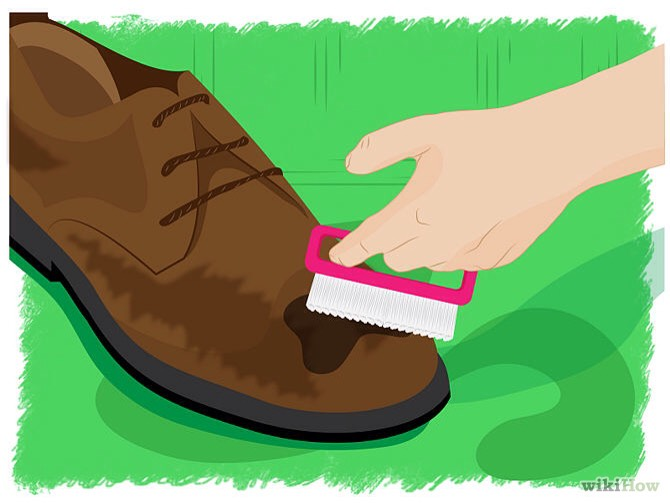 Are your suede shoes or boots dirty? Don't know how to clean them... Then carry on looking