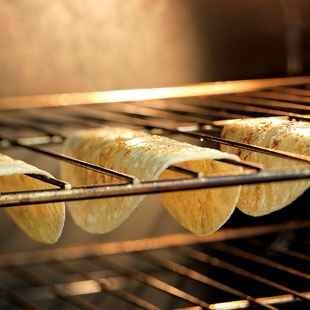 8. Tortillas + The Oven Rack = Great Taco Shells