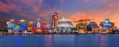 Downtown Disney (soon to be known as Disney Springs): Shopping and entertainment district at Disney World.
