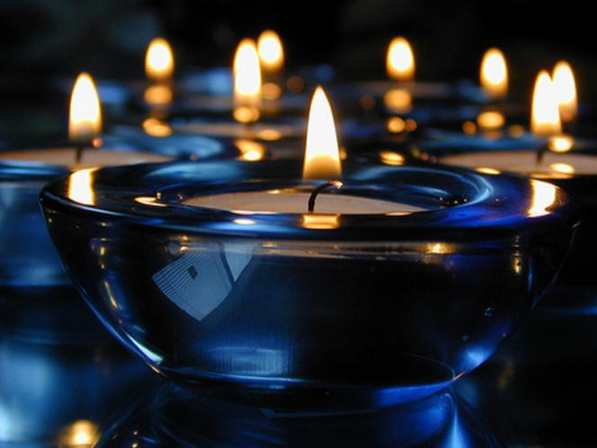 As you're running the bath, light some candles - there's nothing more relaxing than soaking by candlelight.