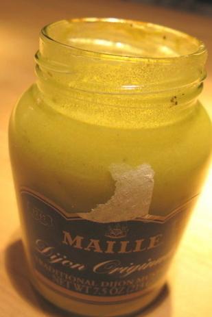 """1. Make """"Bottom of the Mustard Bottle"""" Vinaigrette"""