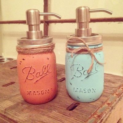 Love these colors because they look rustic!