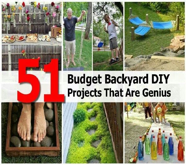 Fun Backyard Projects By Babbz Roman