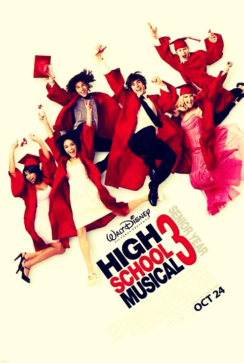 How could we be in a girly sleepover without watching High School Musical... 1,2 and 3 duhh!!