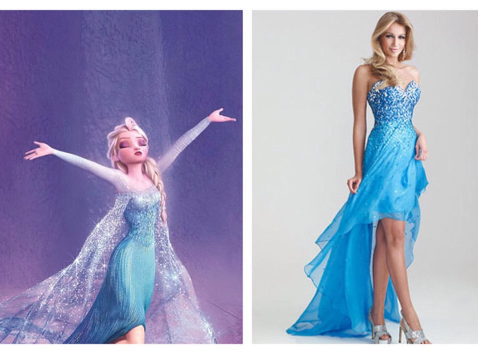 Disney Princess Inspired Prom Dresses By Riya Bhandari Musely