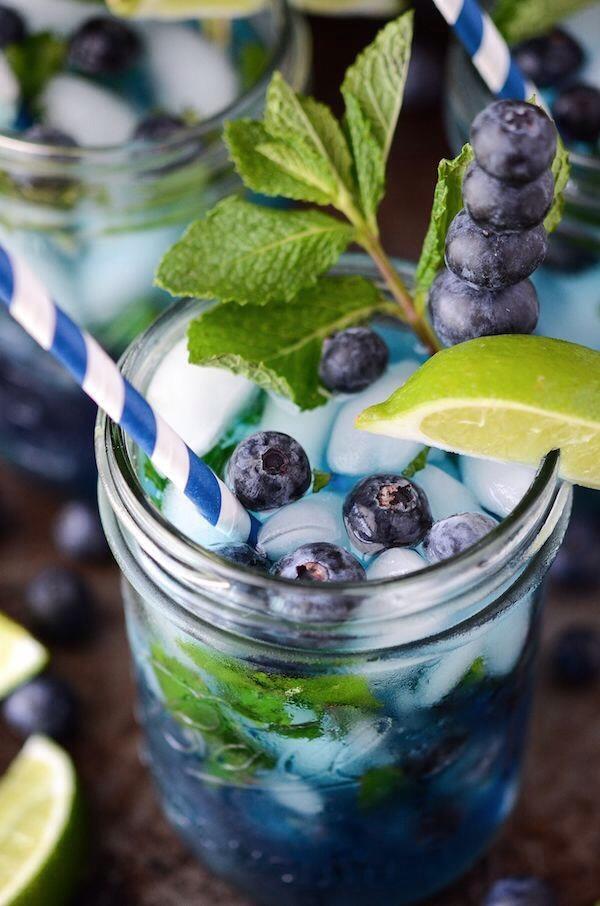 Bluberry mojito