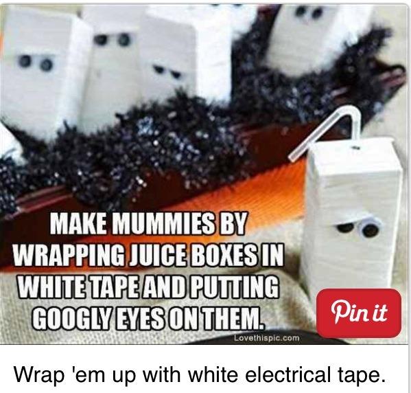 Mummy Juice Boxes!