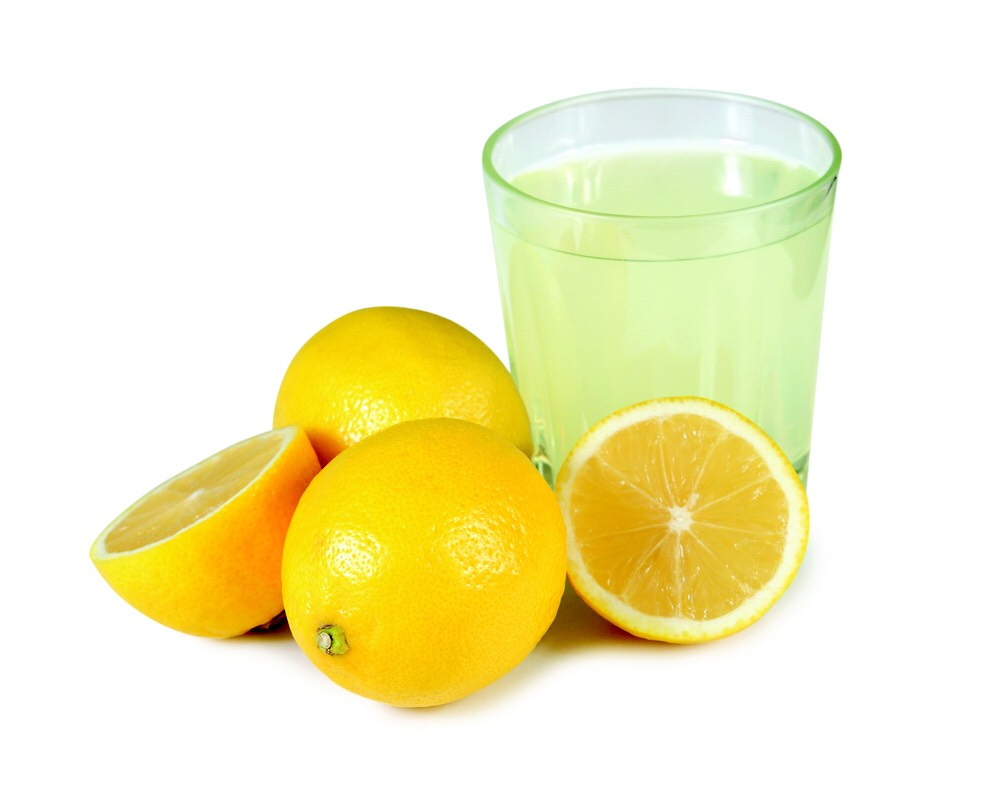 Rinsing your hair with lemon juice can bring life and shine back to dull hair.