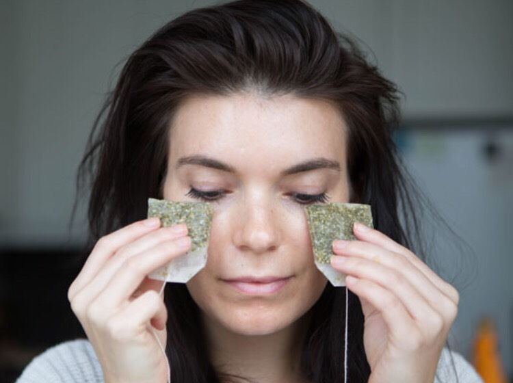 Finally place hot tea bags onto areas of acne or redness. Repeat this at least two times & the whole facial everyday until the area is clear. This process feels amazing & has an even more amazing result. Enjoy your flawless skin!