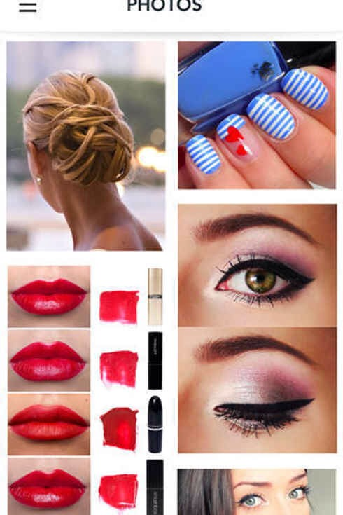 8. Beautylish is like a Pinterest just for beauty products and trends.