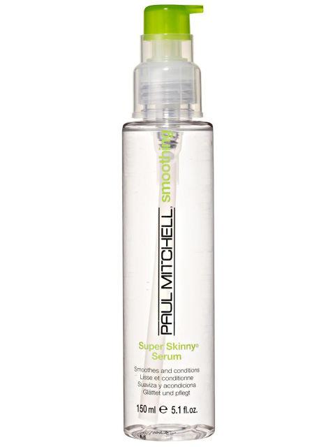 Paul Mitchell Super Skinny Serum, $19 Helps smooth my hair fast with reduced dry time and control frizz. Great product.""