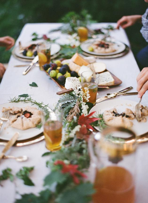5. A Romantic Feast: Avoid buffets, BBQs, sliders or street food, instead try elegant shared table dishes to get conversation flowing and guests dining in a more intimate fashion.Your choice of food and how you serve it can be a big help in creating a romantic atmosphere at your wedding.