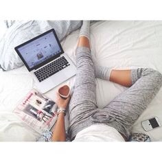 Then I go to my room and have some coffee or tea and chill