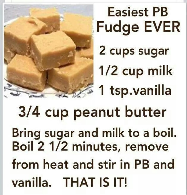 easy pb fudge