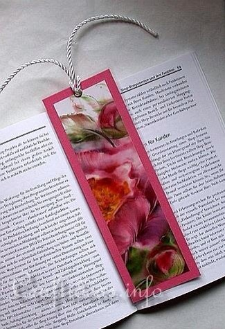 Make a beautiful book mark out if it.