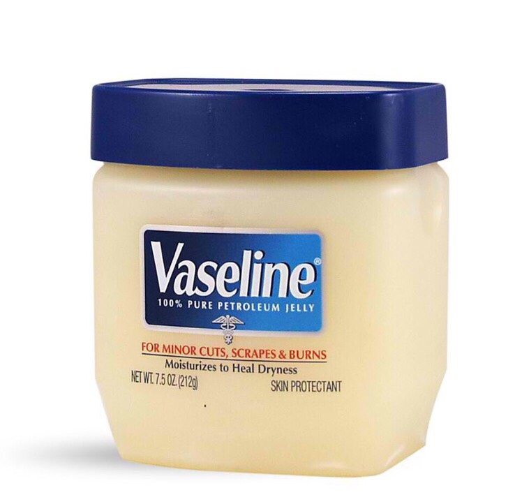 Vaseline!! Just rub it on your eyes and eyelashes (try not to get it in your eyes) then wipe it off with a tissue! It's good for your eyes and helps your eyelashes grow longer!