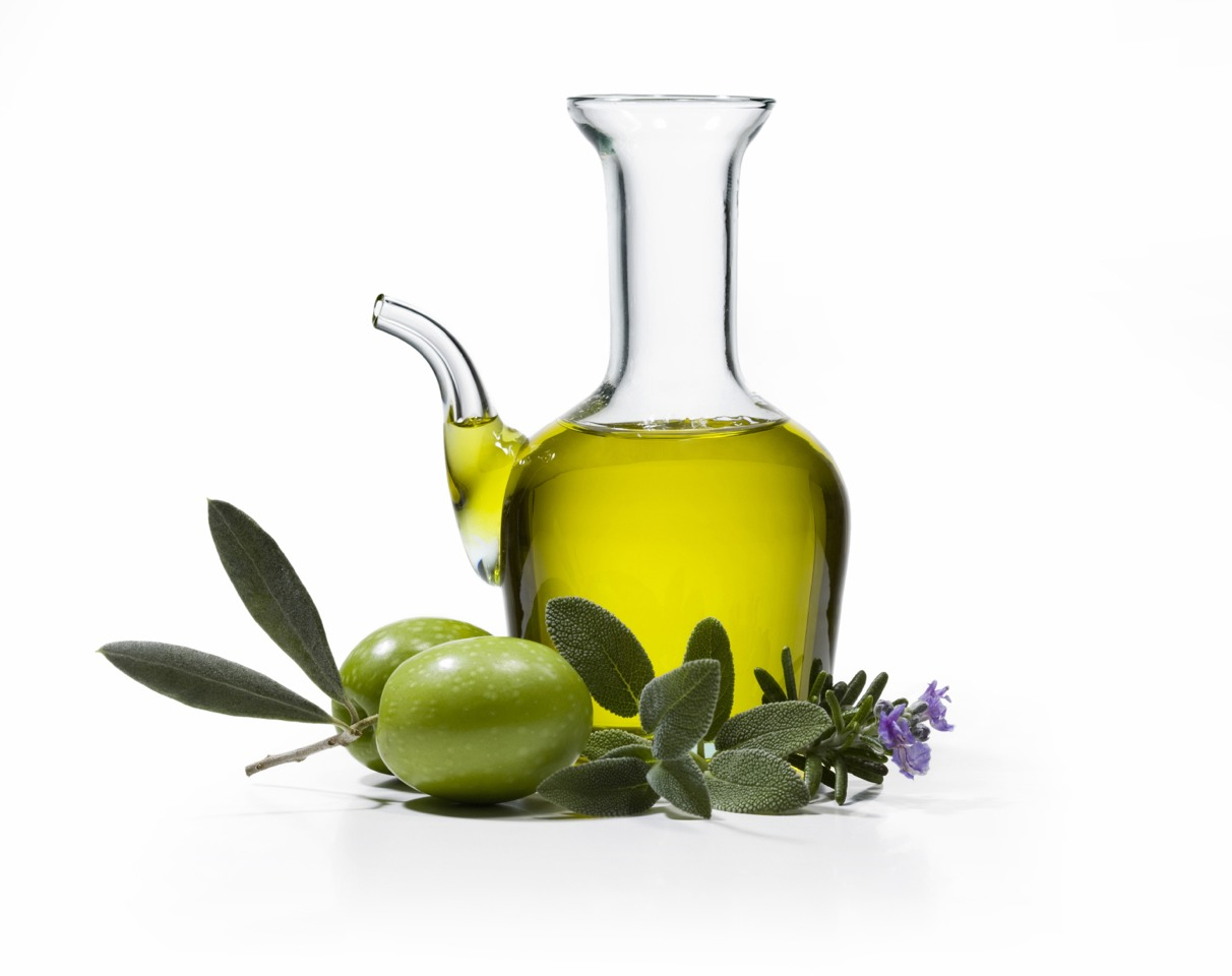 Olive oil softens your hair & for some lucky people helps it grow!