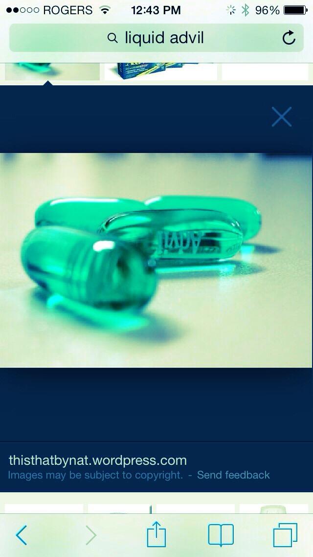 The liquid inside Advil liquid gel cures pimples fast.