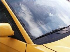 Clean bird poop off your windshield.