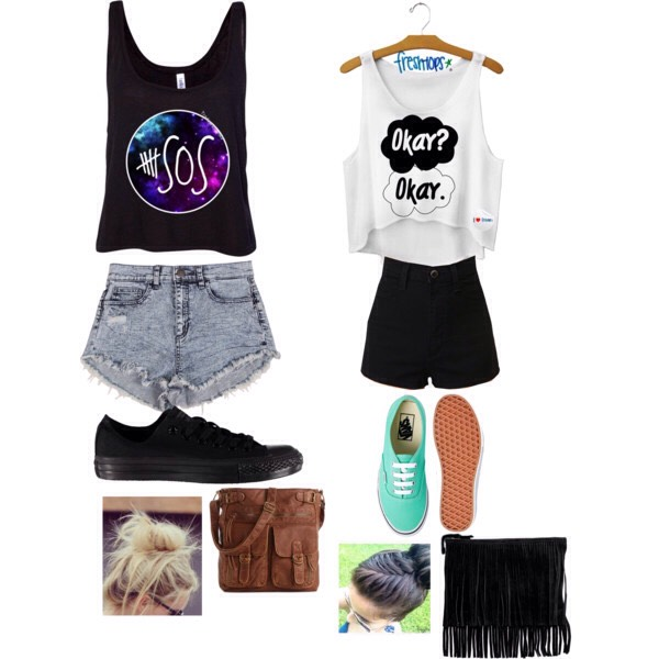 Park Casual, fun, bouncy, playful just like summer Just go with they flow Baggy tops ,tight short, leggings, short skirts Perfect x