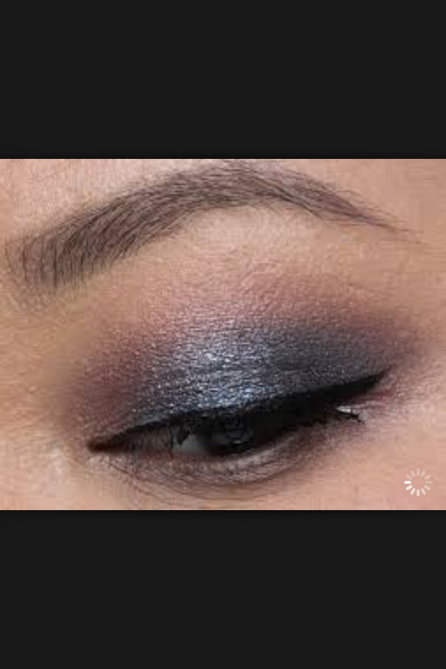 Lastly a week or so put on a blend of eyeshadow/ layers of eyeshadow and mascara, black or coloured eye liner and some lip gloss.