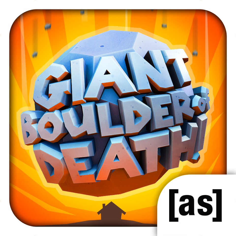 8) Giant Boulder of Death This game is about a big boulder seeking revenge on the humans who killed his love who was a boulder. You get money, you unlock stuff, you upgrade stuff to improve your high score.  My Rating: 8/10