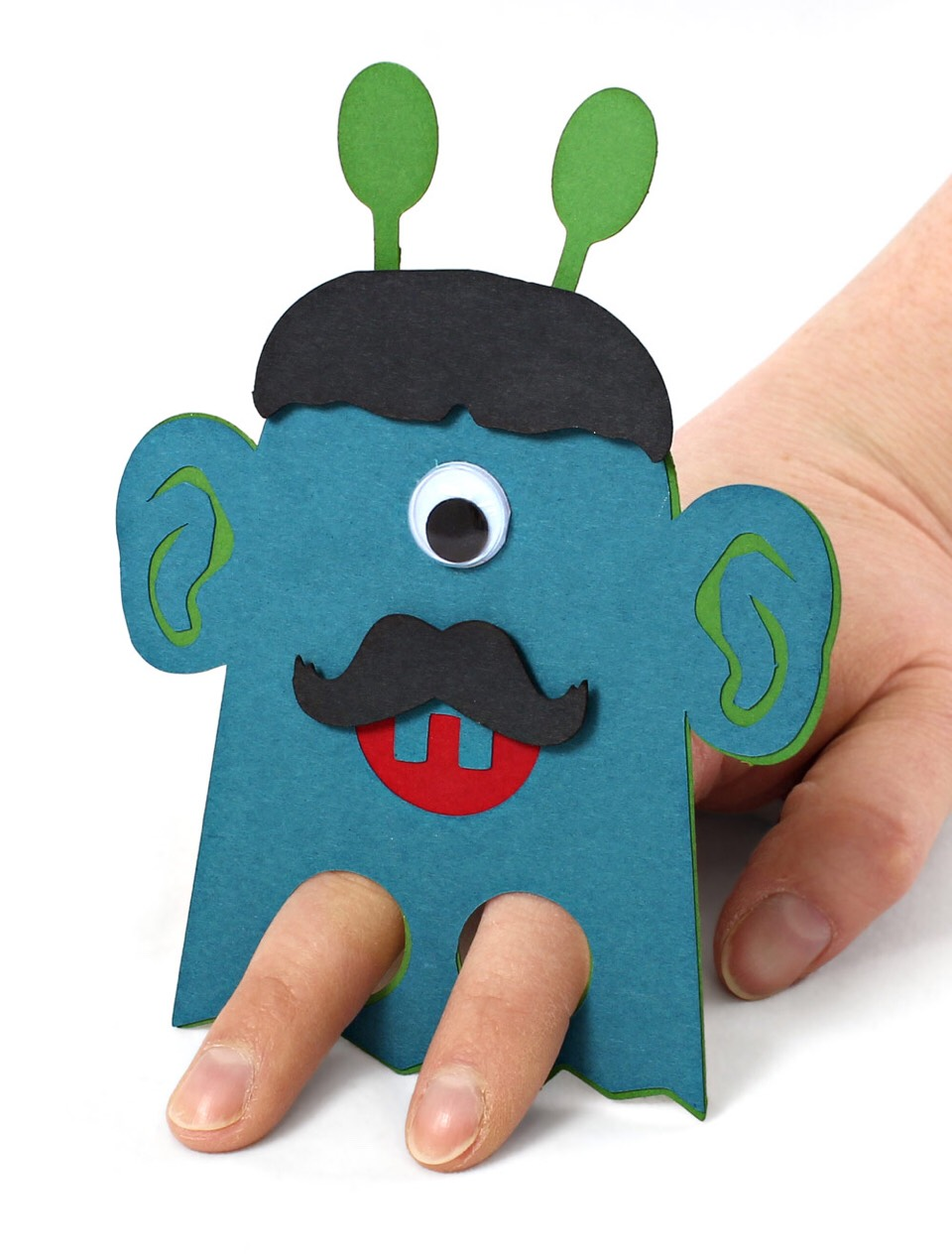 Make your own finger puppets