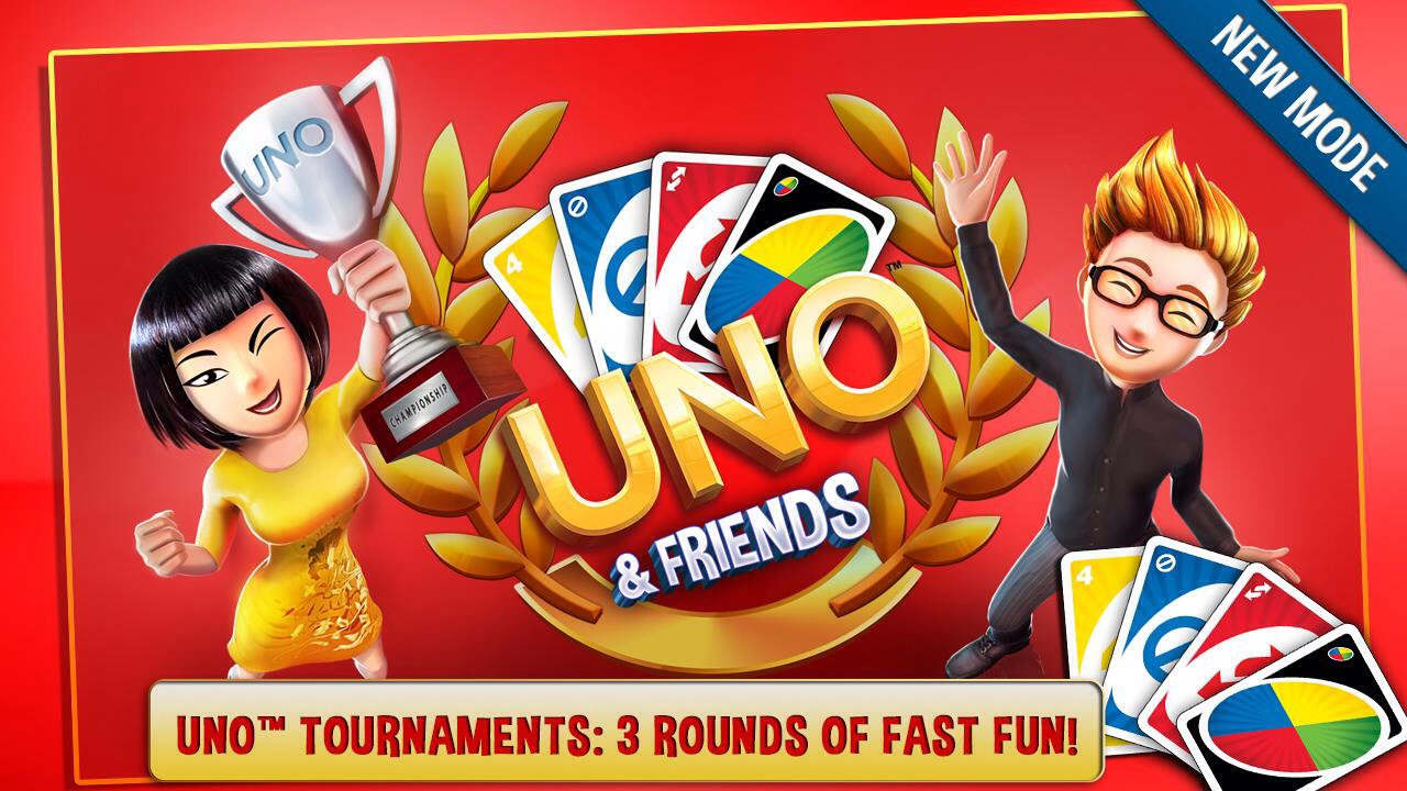 UNO & friends. If you love UNO you will love this app verse players online and win points.