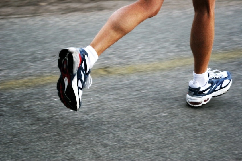 Then run in place or to somewhere for 10 minutes, only stopping for water breaks once or twice.