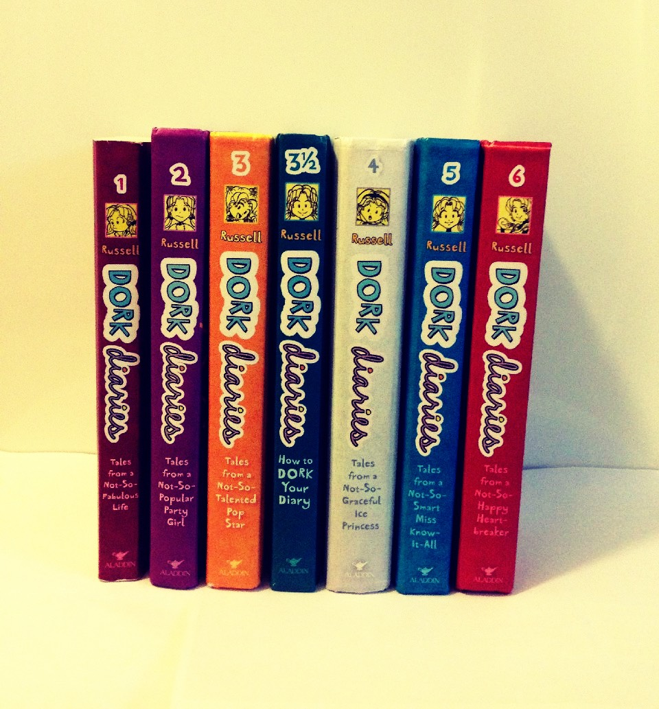 Dork Diaries by Rachel Rennee Russell read all of them.