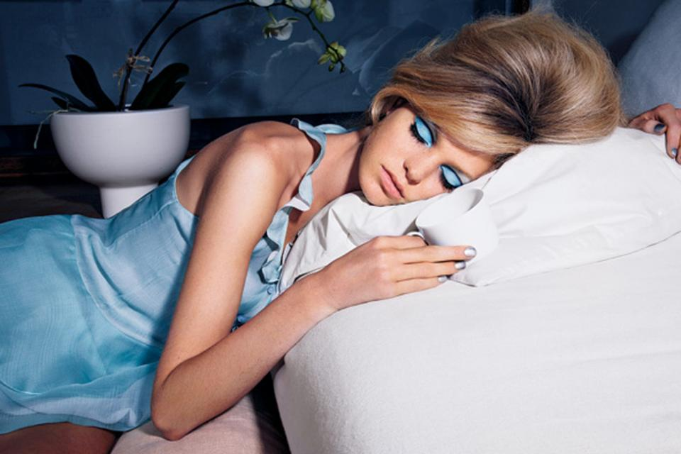 Don't sleep with Mascara on. It can flake into your eyes while you sleep. You might wake up with itchy, bloodshot eyes, scratched corneas or even an infection. Make sure to remove all make up before you go to bed.